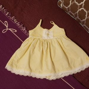 Yellow Baby sundress